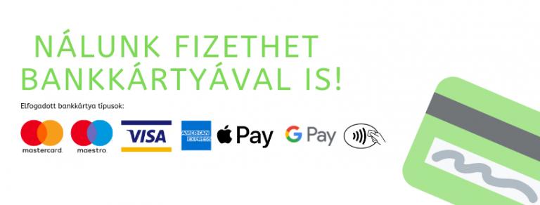 bankkártyás fizetés kisbusz bérlés
